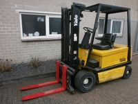 YALE 3 ton Elektrische Heftruck Duplo 3,2 m (BJ 1995) Side-Shift