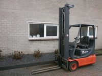 LINDE E14 E 14 Triplo   6,3 m Heftruck Freelift Side-Shift